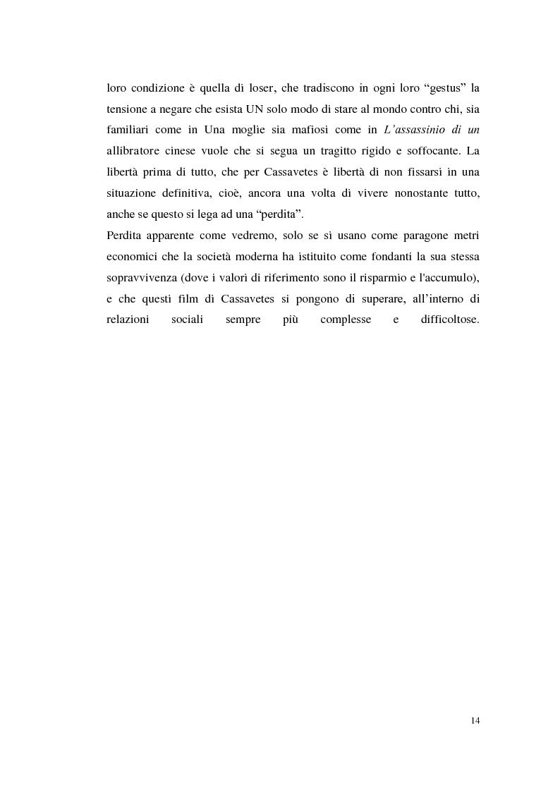 Anteprima della tesi: John Cassavetes. Un cinema vitale., Pagina 10