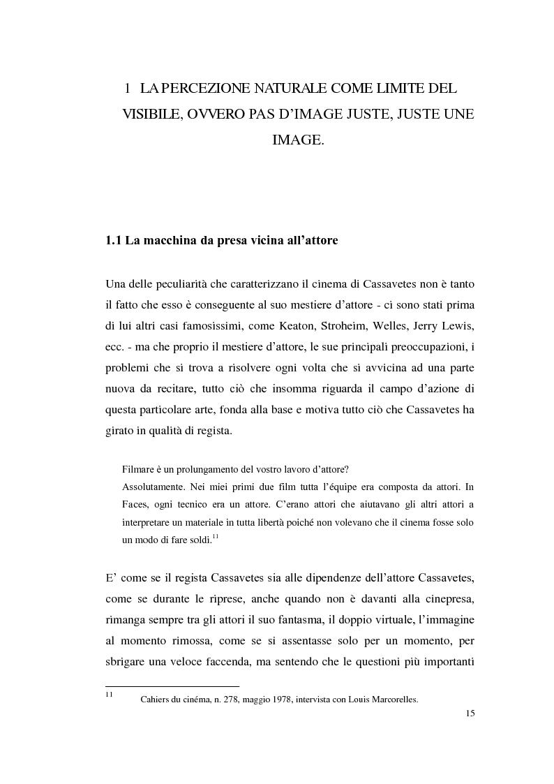 Anteprima della tesi: John Cassavetes. Un cinema vitale., Pagina 11
