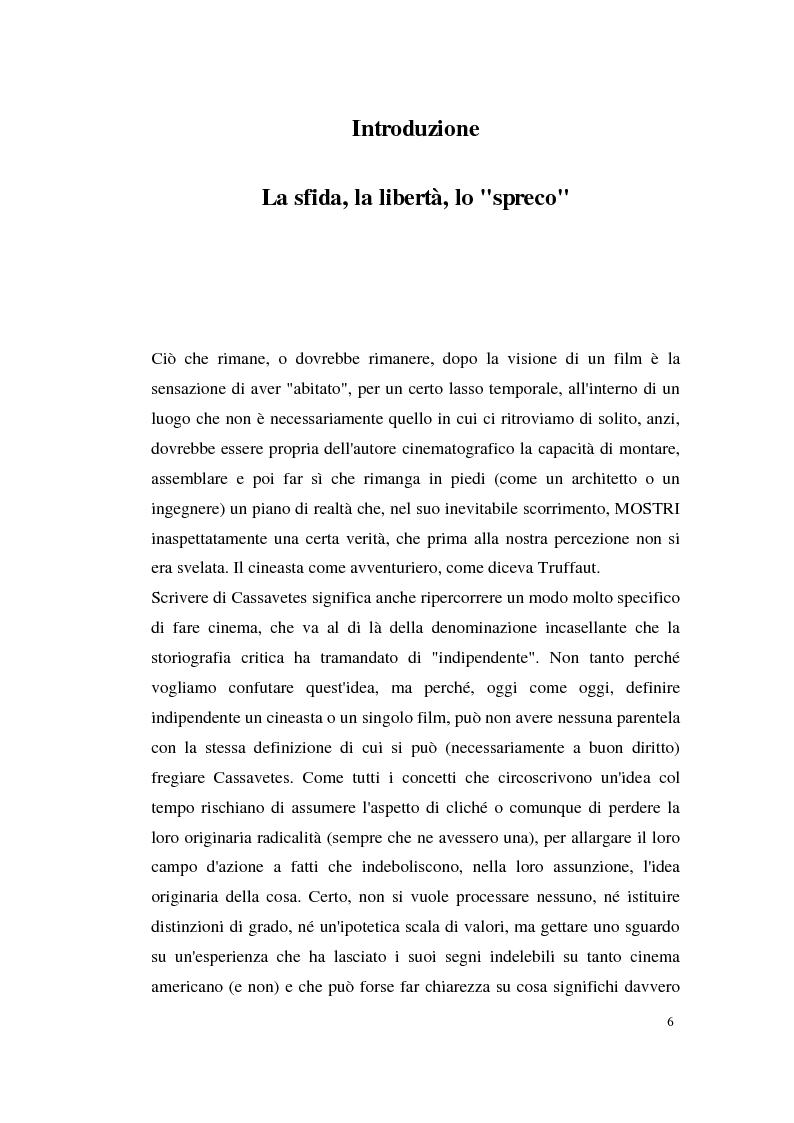 Anteprima della tesi: John Cassavetes. Un cinema vitale., Pagina 2
