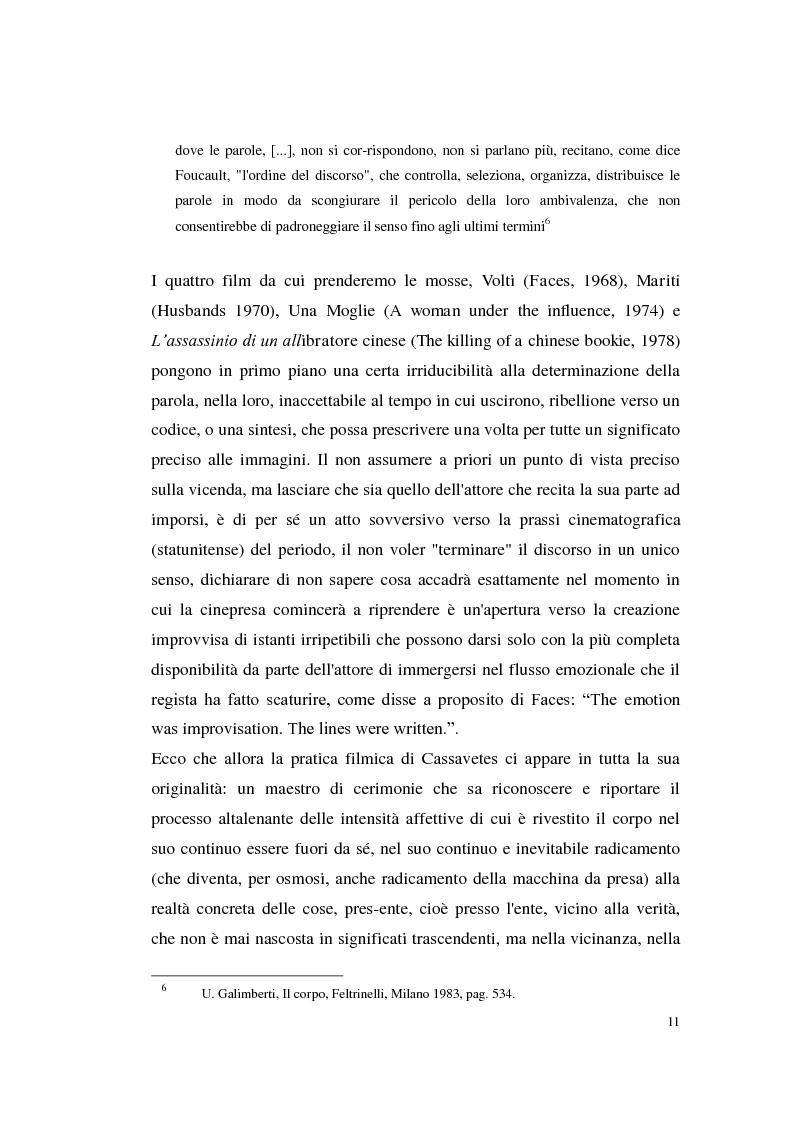 Anteprima della tesi: John Cassavetes. Un cinema vitale., Pagina 7