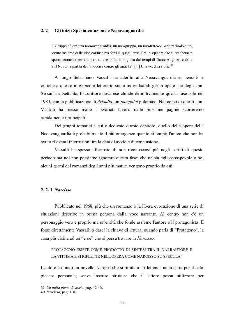 Anteprima della tesi: La narrativa di Sebastiano Vassalli. Romanzo storico e romanzo d'invenzione, Pagina 12