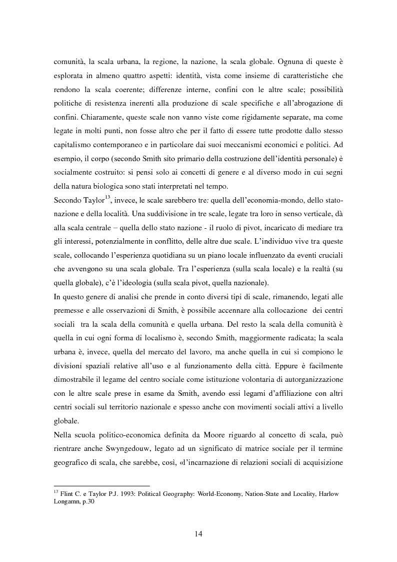 Anteprima della tesi: I centri sociali a Napoli: analisi di uno spazio pubblico, Pagina 9