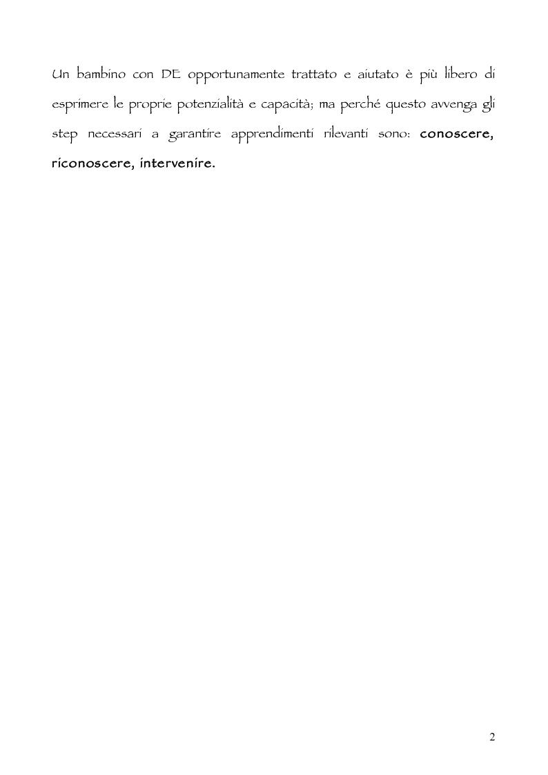 Anteprima della tesi: Neuropsicologia della lettura e dislessia evolutiva, Pagina 3