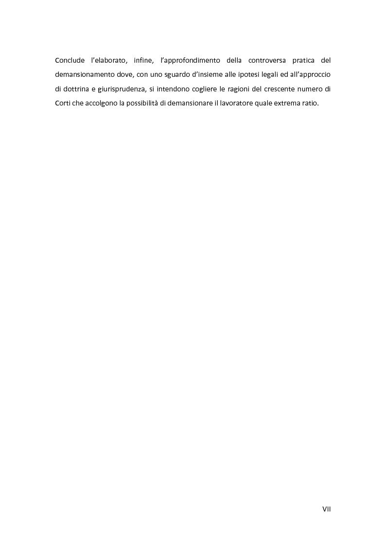 Anteprima della tesi: La disciplina delle mansioni nel lavoro subordinato privato: il quadro normativo e l'interpretazione giurisprudenziale , Pagina 4