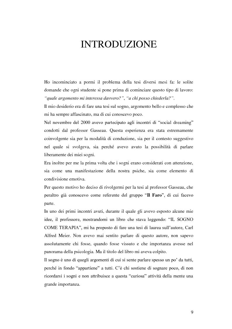 Anteprima della tesi: Carl Alfred Meier: un pioniere della psicologia analitica, Pagina 2