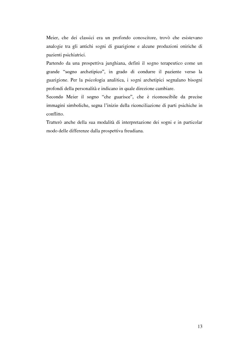 Anteprima della tesi: Carl Alfred Meier: un pioniere della psicologia analitica, Pagina 6