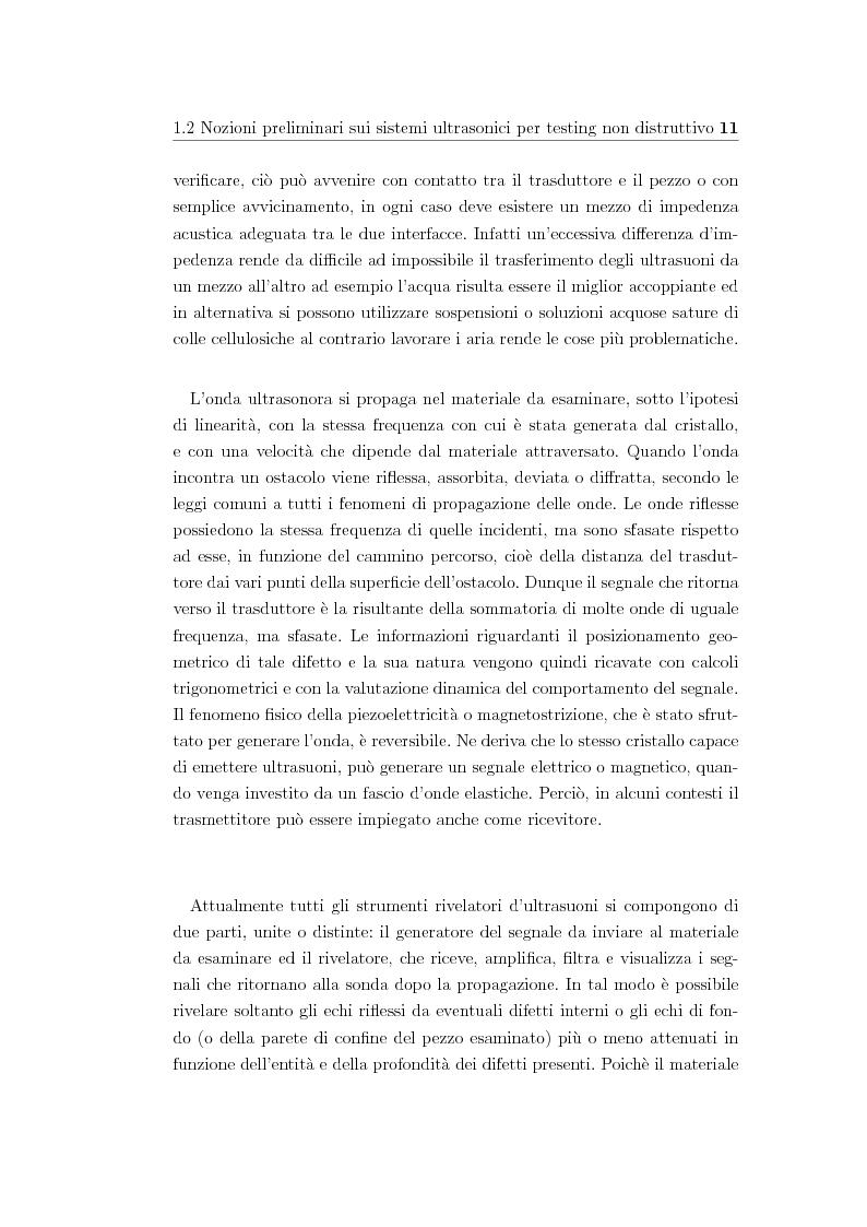 Anteprima della tesi: Dal chirp a segnali di eccitazione pseudo-ortogonali per il testing non distruttivo a ultrasuoni, Pagina 4