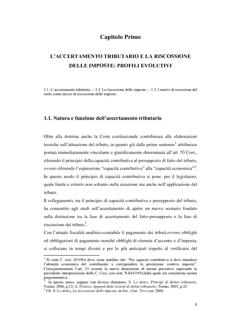 Anteprima della tesi: L'atto di accertamento esecutivo, Pagina 2