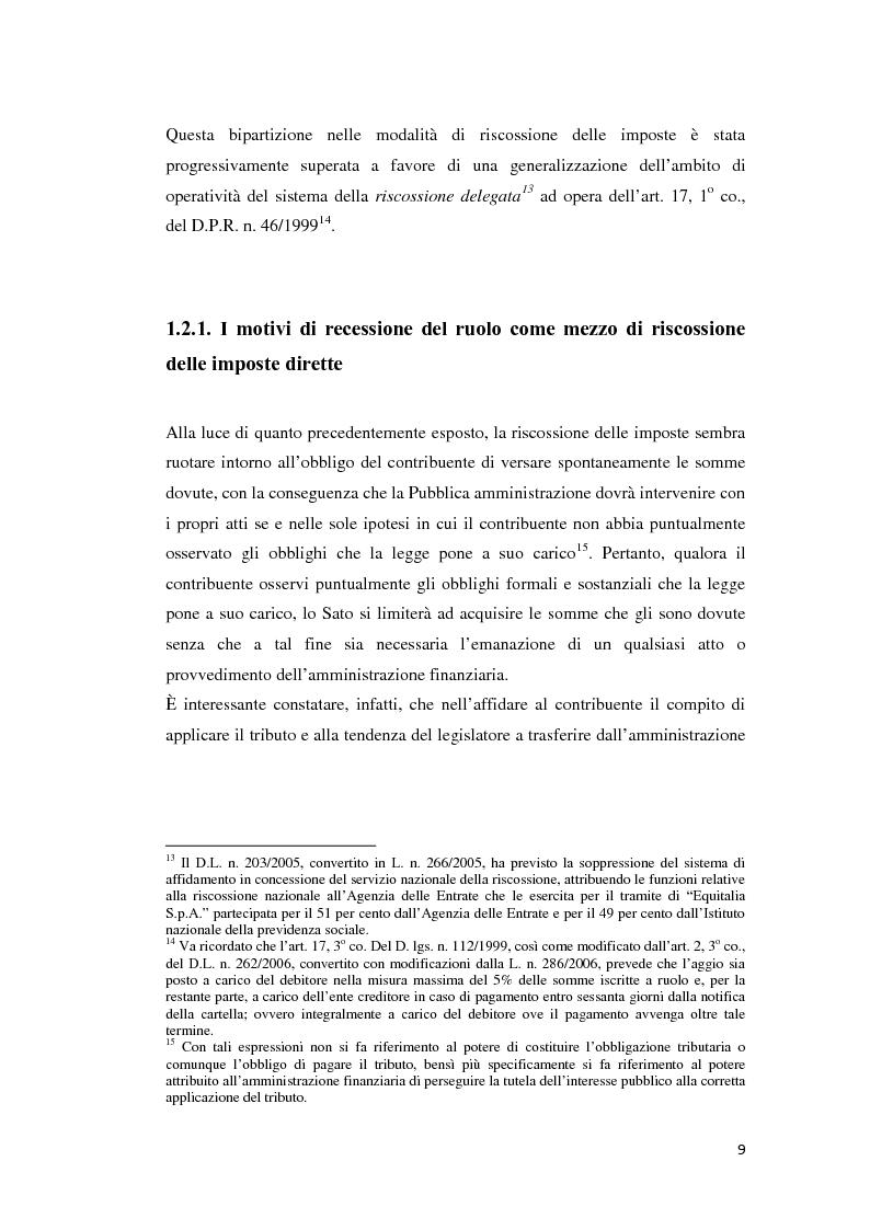 Anteprima della tesi: L'atto di accertamento esecutivo, Pagina 6
