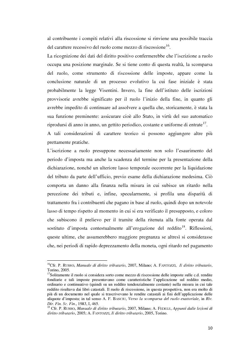 Anteprima della tesi: L'atto di accertamento esecutivo, Pagina 7