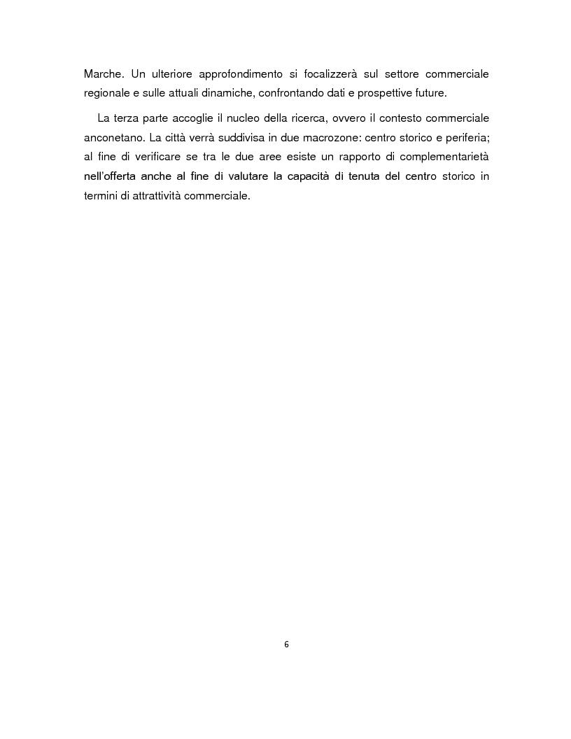 Anteprima della tesi: Gli spazi del commercio nei processi di rigenerazione urbana del capoluogo dorico, Pagina 4