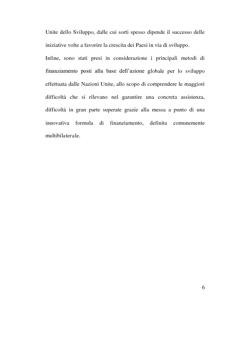 Anteprima della tesi: Cooperazione Economica e Azione per lo Sviluppo, Pagina 4