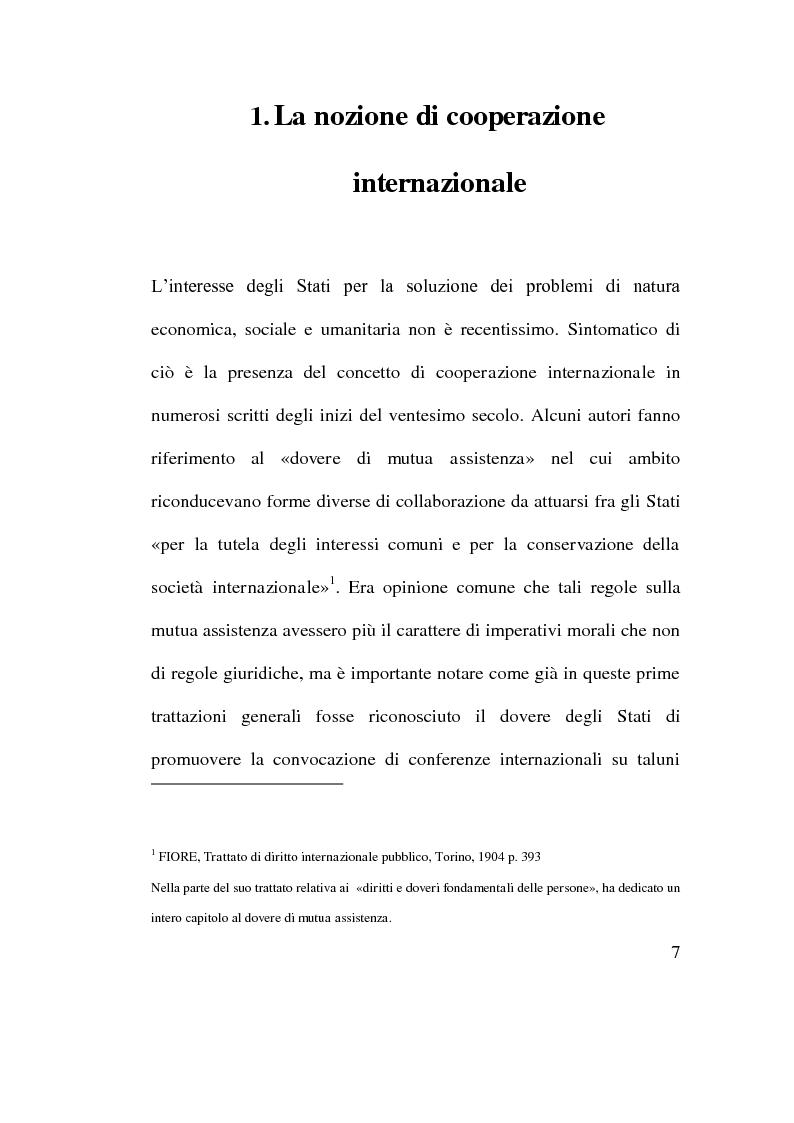 Anteprima della tesi: Cooperazione Economica e Azione per lo Sviluppo, Pagina 5