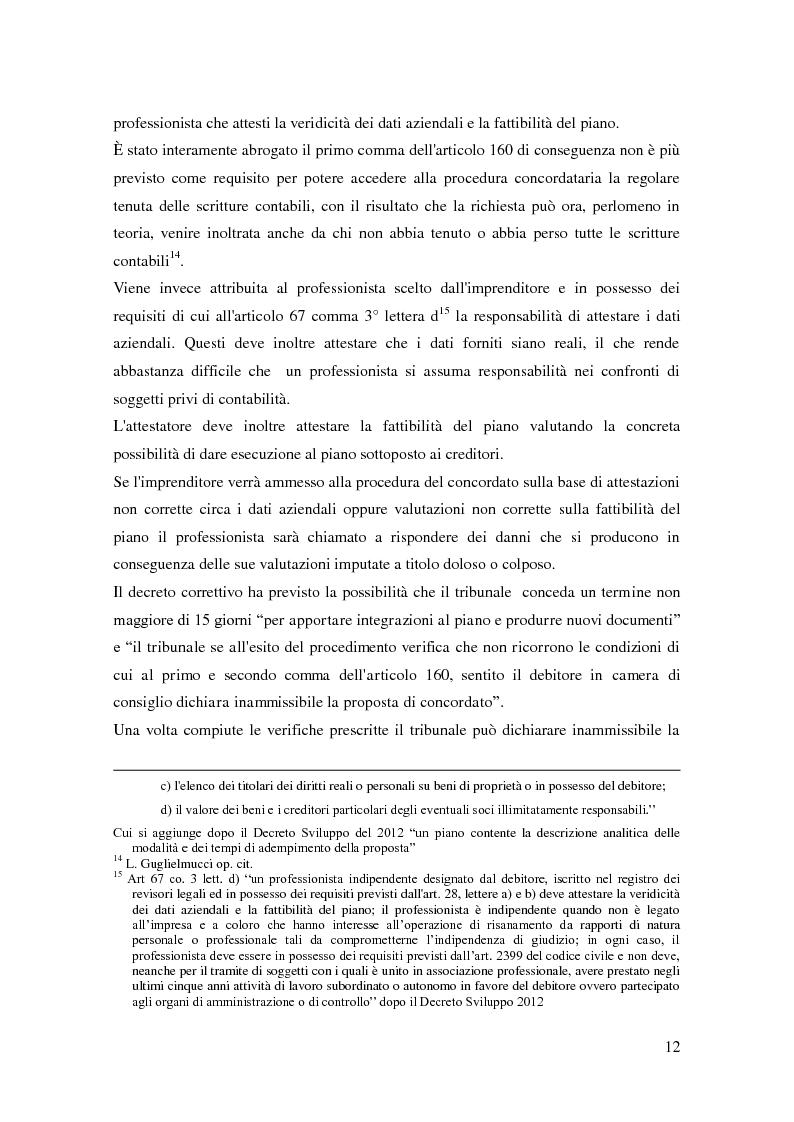 Anteprima della tesi: Il ruolo dell'autorità giudiziaria nella gestione della crisi di impresa, Pagina 10