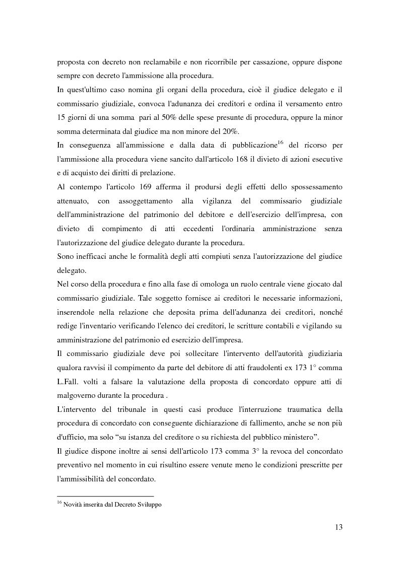 Anteprima della tesi: Il ruolo dell'autorità giudiziaria nella gestione della crisi di impresa, Pagina 11