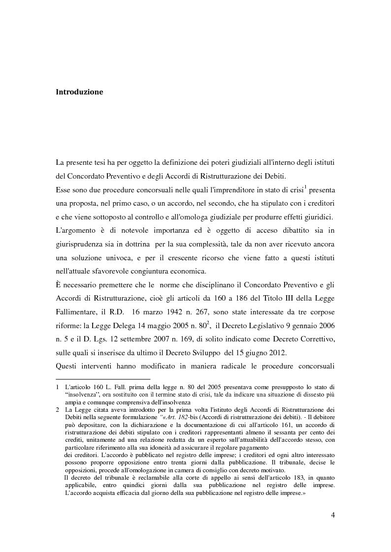 Anteprima della tesi: Il ruolo dell'autorità giudiziaria nella gestione della crisi di impresa, Pagina 2