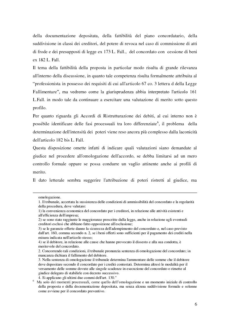 Anteprima della tesi: Il ruolo dell'autorità giudiziaria nella gestione della crisi di impresa, Pagina 4