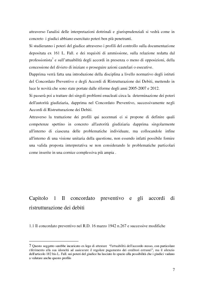 Anteprima della tesi: Il ruolo dell'autorità giudiziaria nella gestione della crisi di impresa, Pagina 5