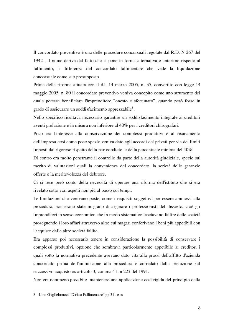 Anteprima della tesi: Il ruolo dell'autorità giudiziaria nella gestione della crisi di impresa, Pagina 6