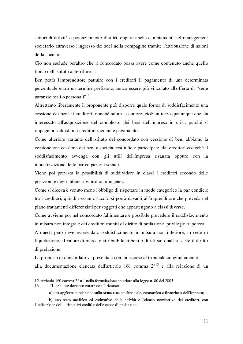 Anteprima della tesi: Il ruolo dell'autorità giudiziaria nella gestione della crisi di impresa, Pagina 9