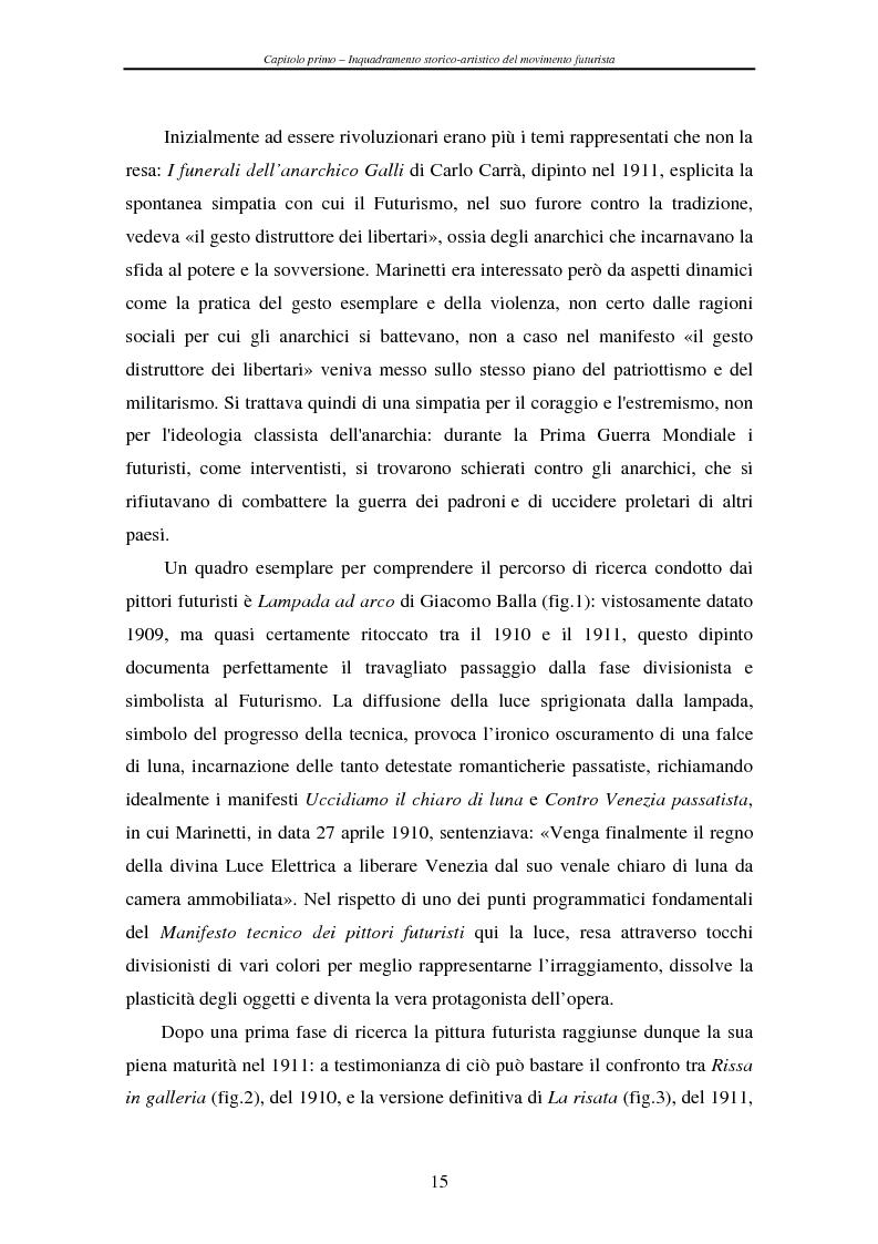 Anteprima della tesi: Esperienze futuriste tra Parma e Piacenza, Pagina 10