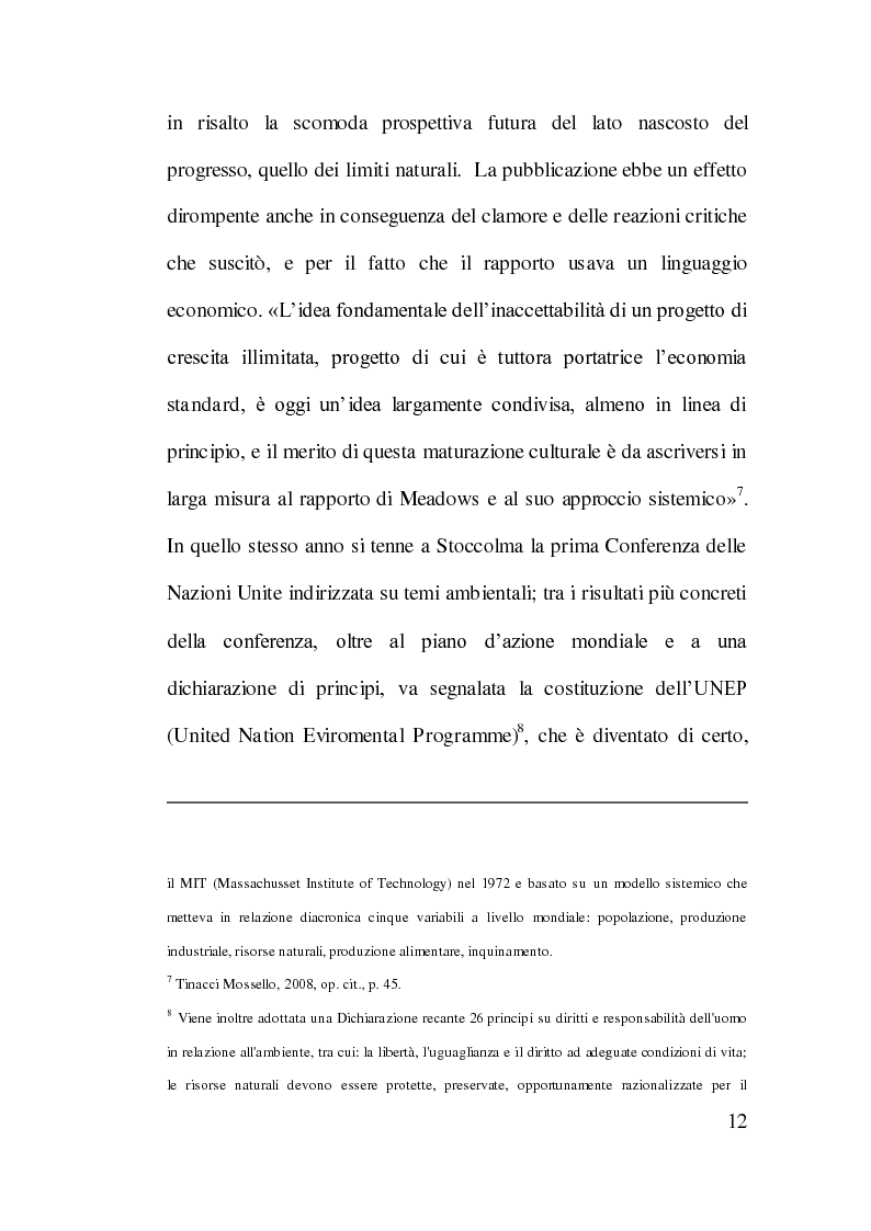 Anteprima della tesi: Cooperazione Internazionale allo Sviluppo e Tutela Ambientale: Il Caso Cinese, Pagina 11