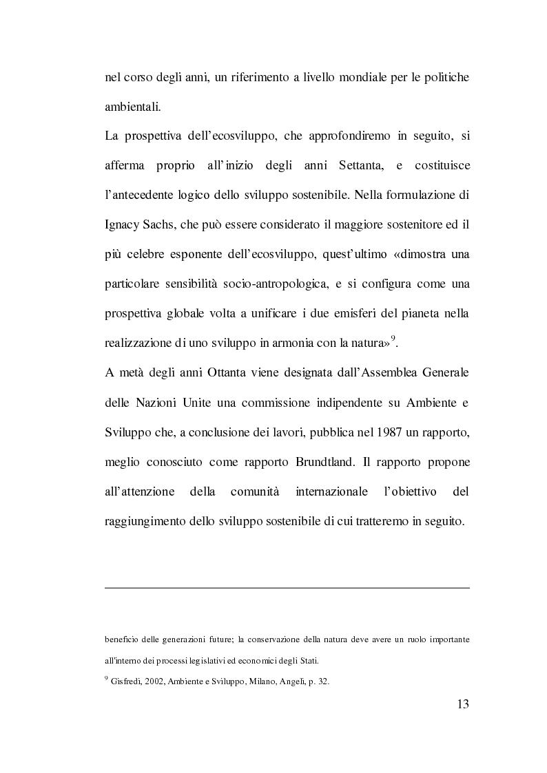 Anteprima della tesi: Cooperazione Internazionale allo Sviluppo e Tutela Ambientale: Il Caso Cinese, Pagina 12