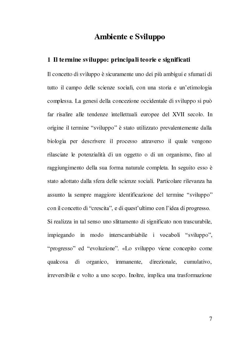 Anteprima della tesi: Cooperazione Internazionale allo Sviluppo e Tutela Ambientale: Il Caso Cinese, Pagina 6