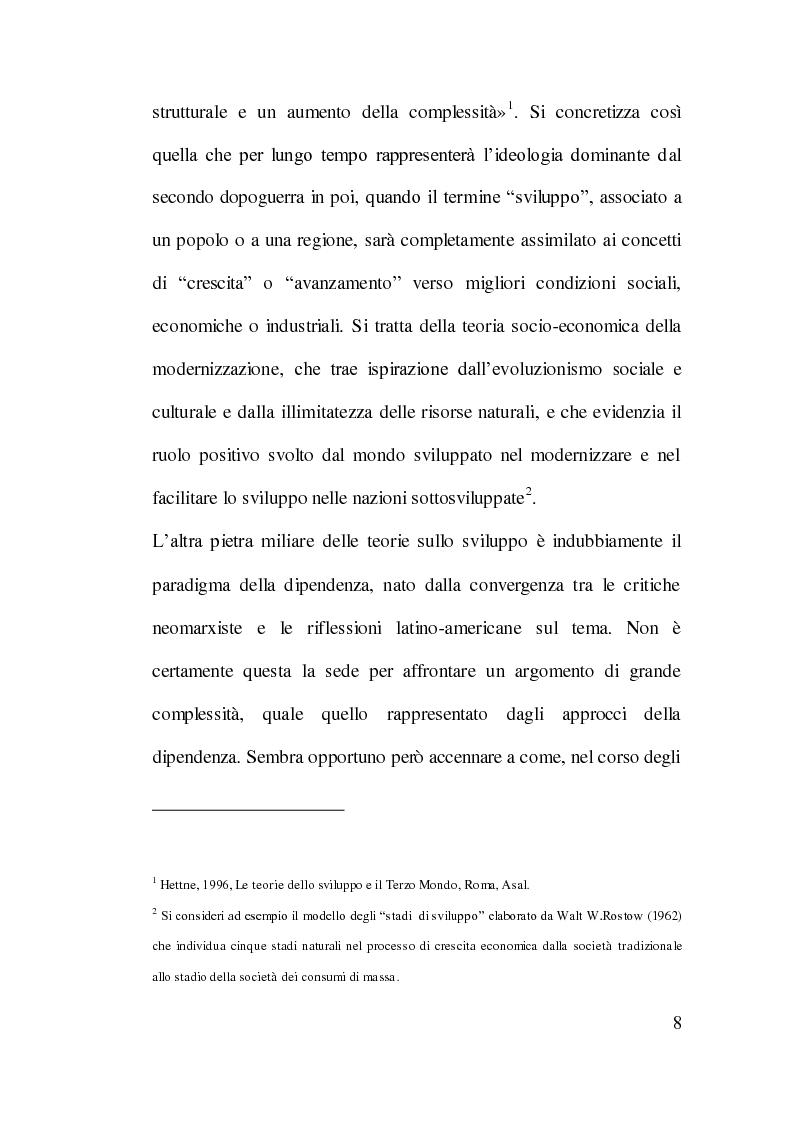 Anteprima della tesi: Cooperazione Internazionale allo Sviluppo e Tutela Ambientale: Il Caso Cinese, Pagina 7