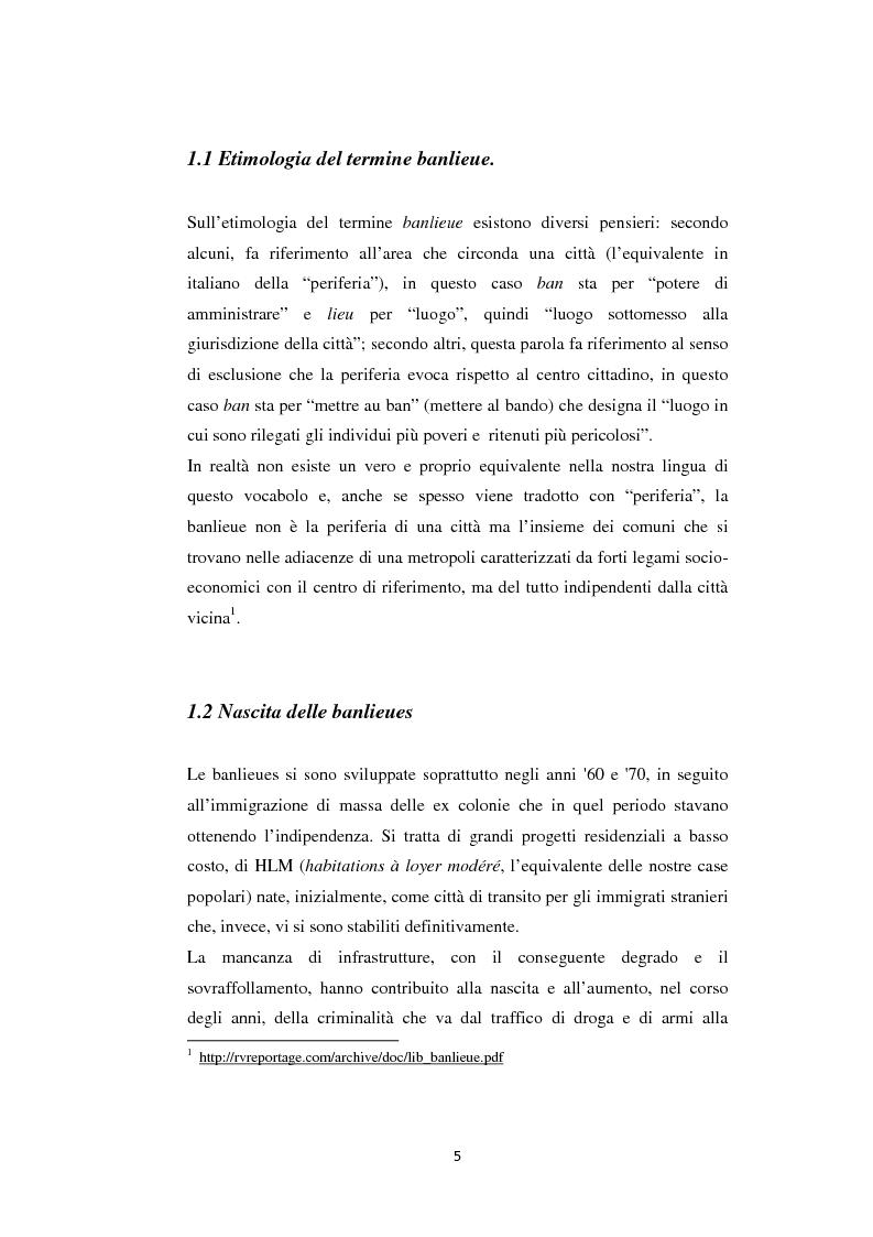 Anteprima della tesi: Caratteristiche linguistiche del francese parlato dai giovani, Pagina 5