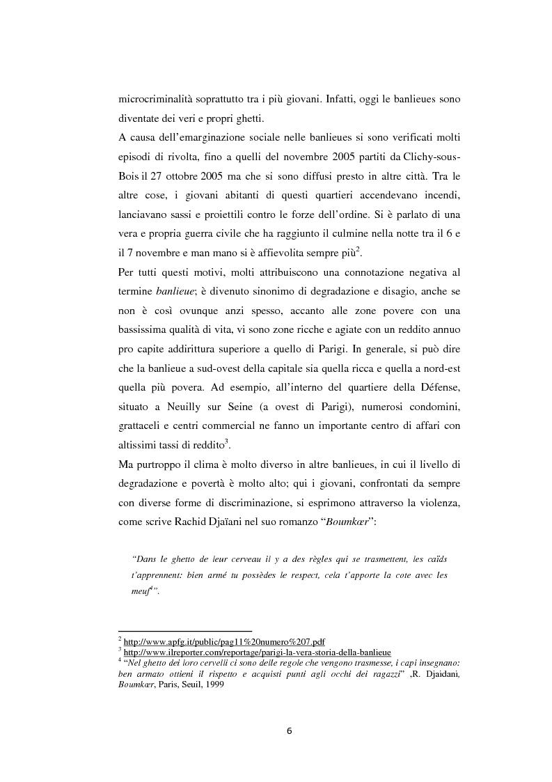 Anteprima della tesi: Caratteristiche linguistiche del francese parlato dai giovani, Pagina 6