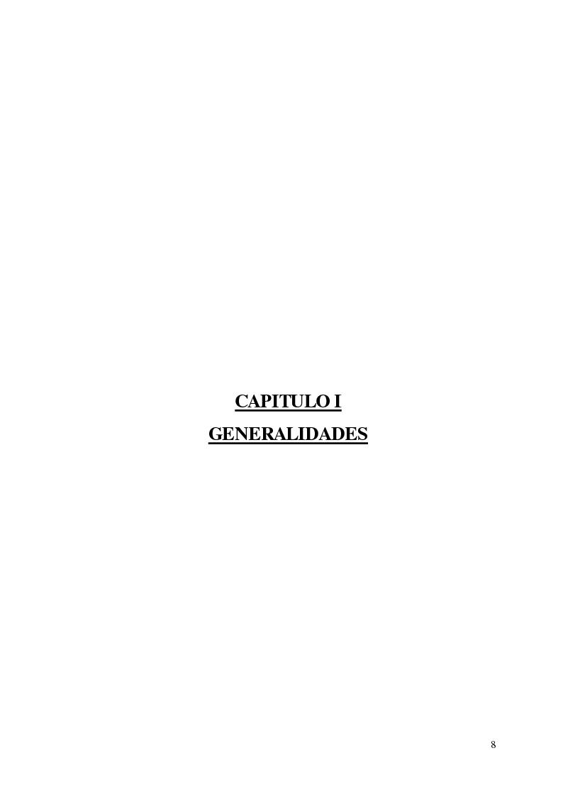 Anteprima della tesi: Implementacion de un Sistema de Control de Proyectos en la Dirección de la Promoción de la Competitividad Agraria - Dral, Pagina 4