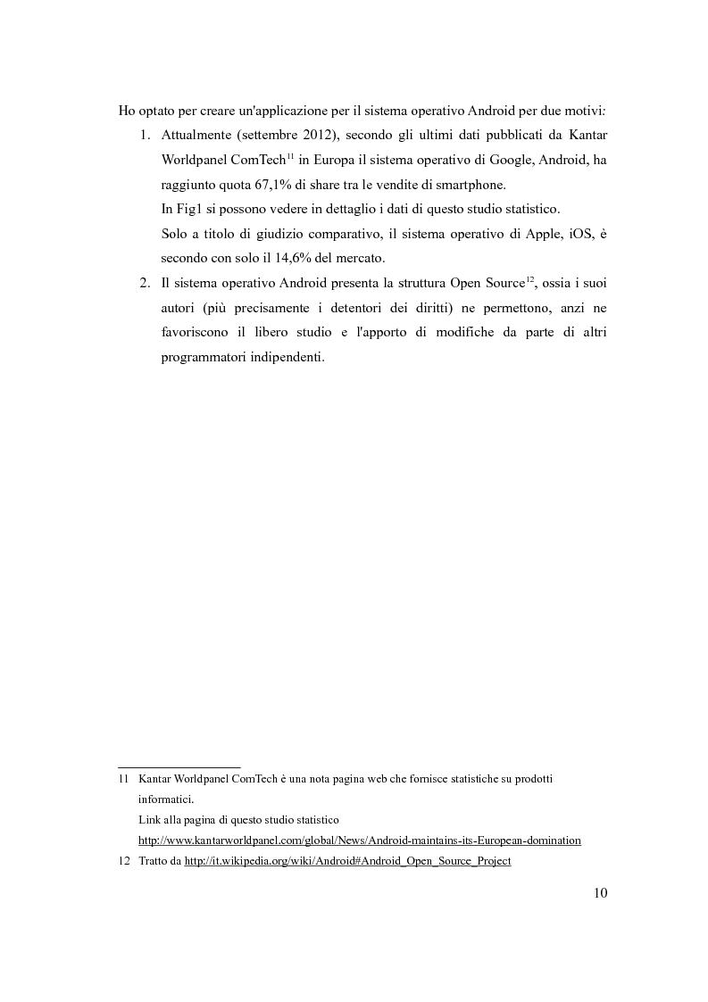 Anteprima della tesi: Sviluppo di una applicazione Android per il monitoraggio delle persone anziane non autosufficienti, Pagina 7