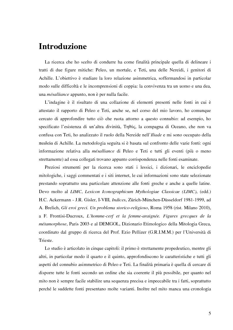 Anteprima della tesi: Peleo e Teti: una relazione asimmetrica, Pagina 2