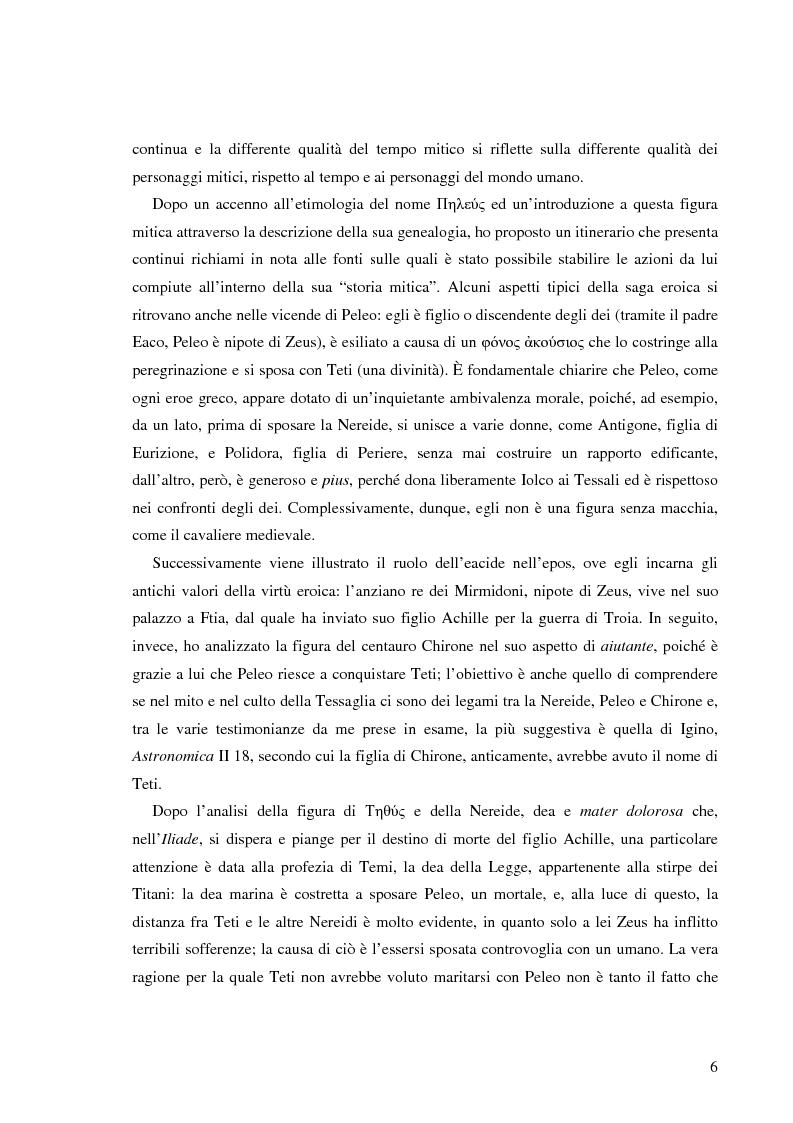 Anteprima della tesi: Peleo e Teti: una relazione asimmetrica, Pagina 3