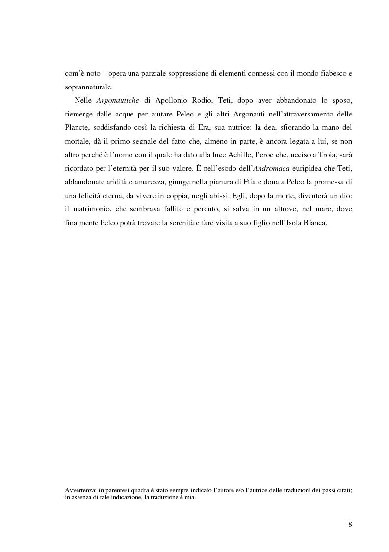Anteprima della tesi: Peleo e Teti: una relazione asimmetrica, Pagina 5