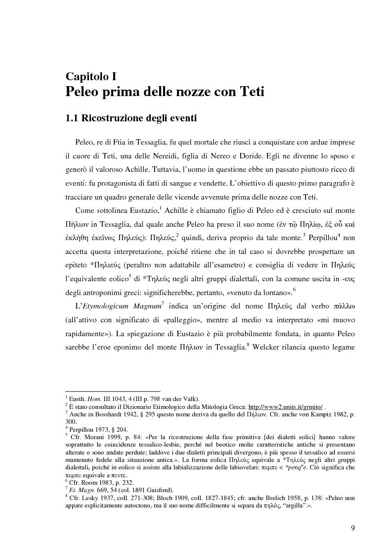 Anteprima della tesi: Peleo e Teti: una relazione asimmetrica, Pagina 6