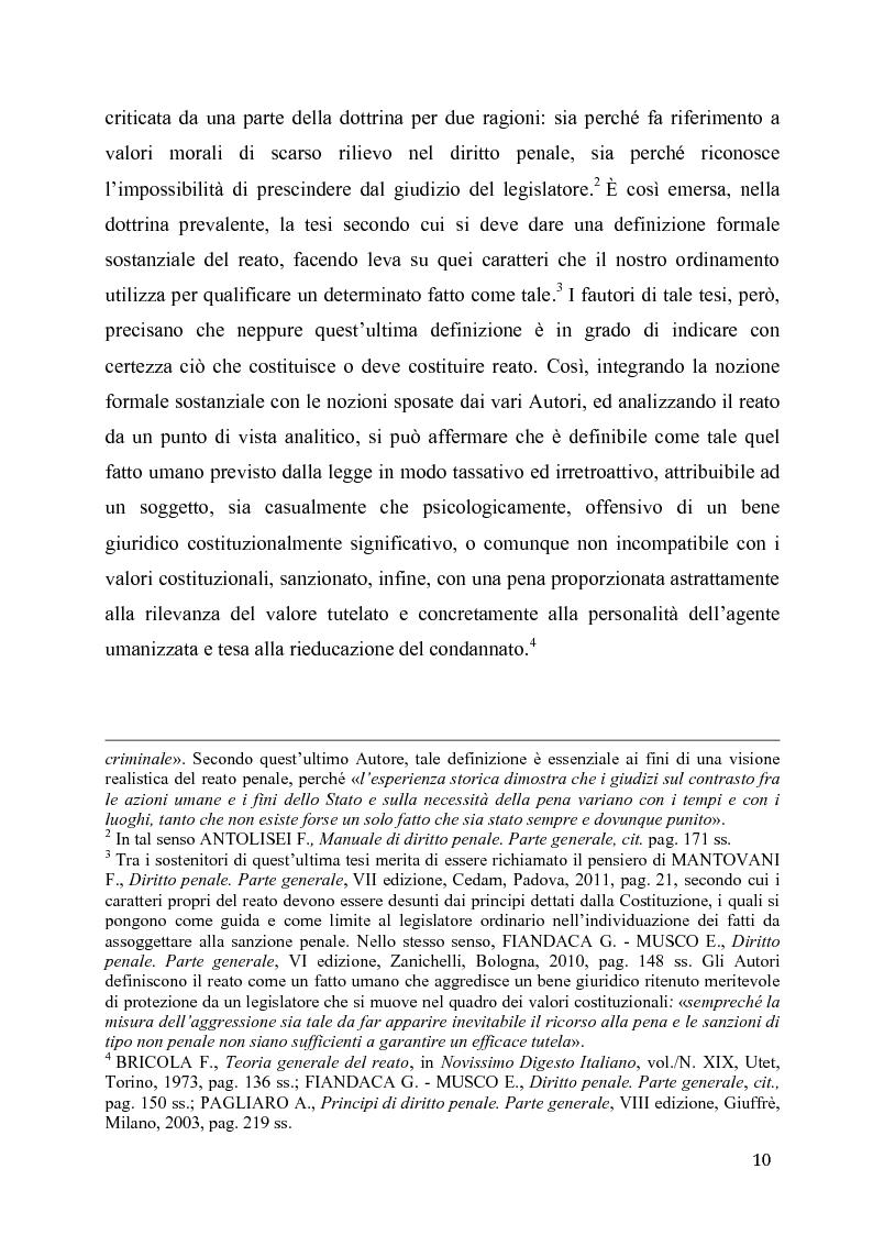 Anteprima della tesi: L'eccesso colposo di legittima difesa, Pagina 6