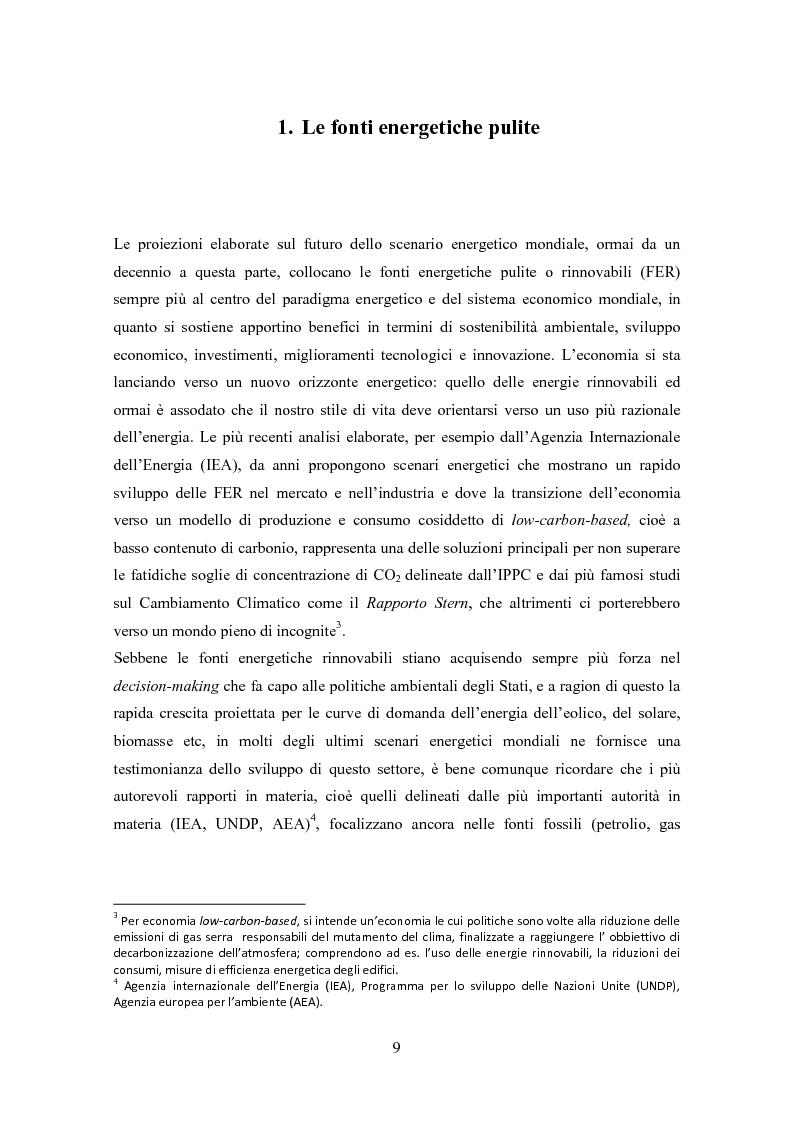 Anteprima della tesi: La biomassa: una FER a rapido sviluppo. Studio della filiera a oli vegetali e sulla sostenibilità ambientale ed energetica dei biocombustibili., Pagina 6