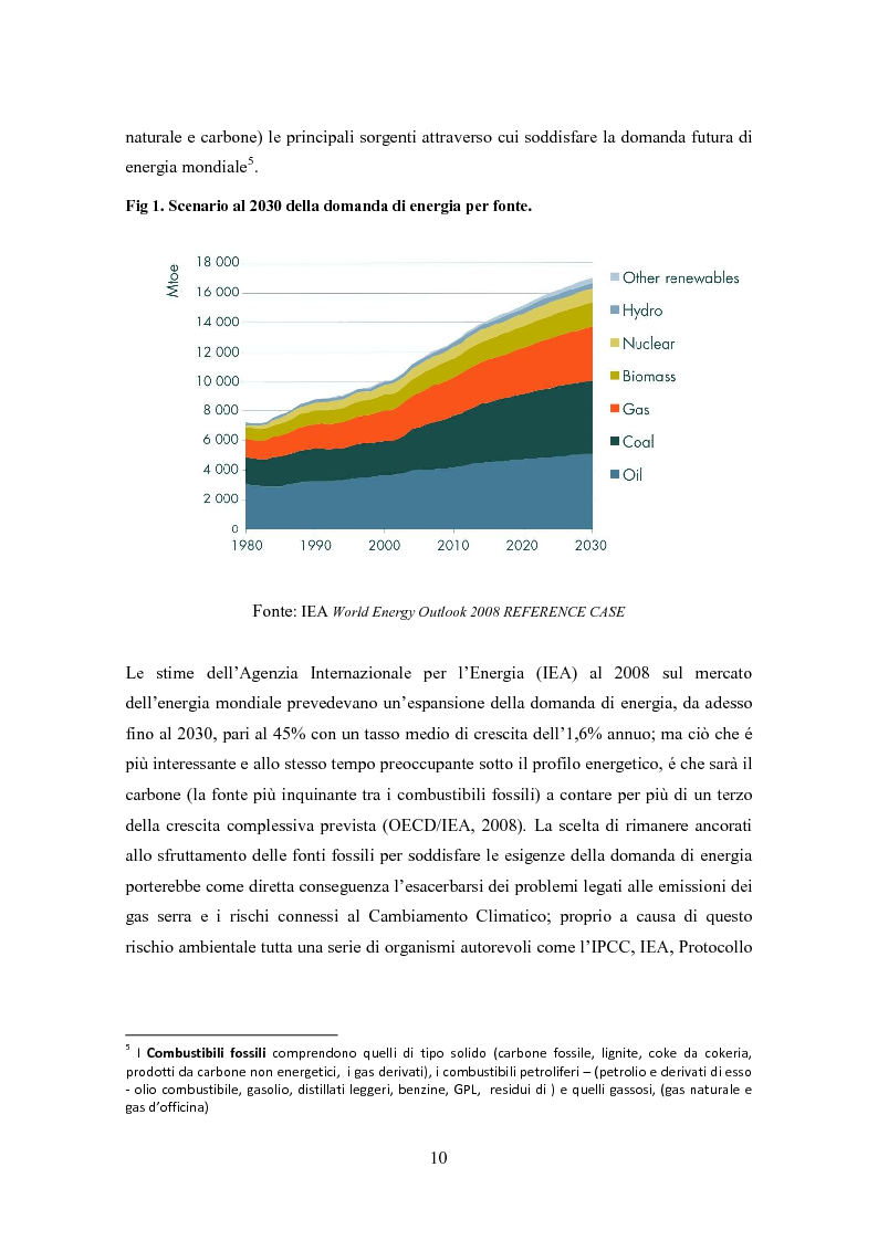 Anteprima della tesi: La biomassa: una FER a rapido sviluppo. Studio della filiera a oli vegetali e sulla sostenibilità ambientale ed energetica dei biocombustibili., Pagina 7