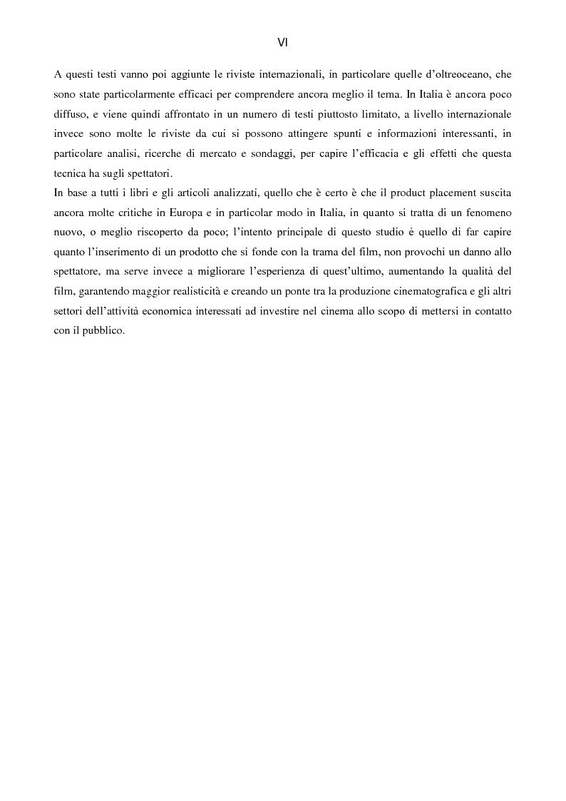 Anteprima della tesi: Il Product placement dalle origini ai giorni nostri, Pagina 7