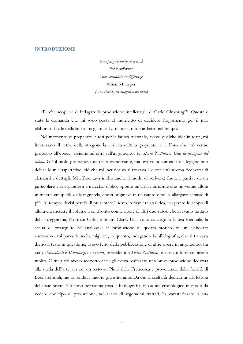 Anteprima della tesi: Carlo Ginzburg: una biografia intellettuale, Pagina 2