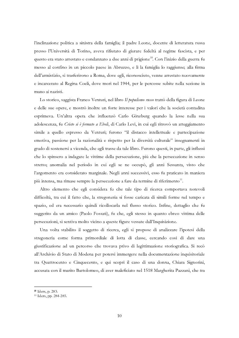 Anteprima della tesi: Carlo Ginzburg: una biografia intellettuale, Pagina 8