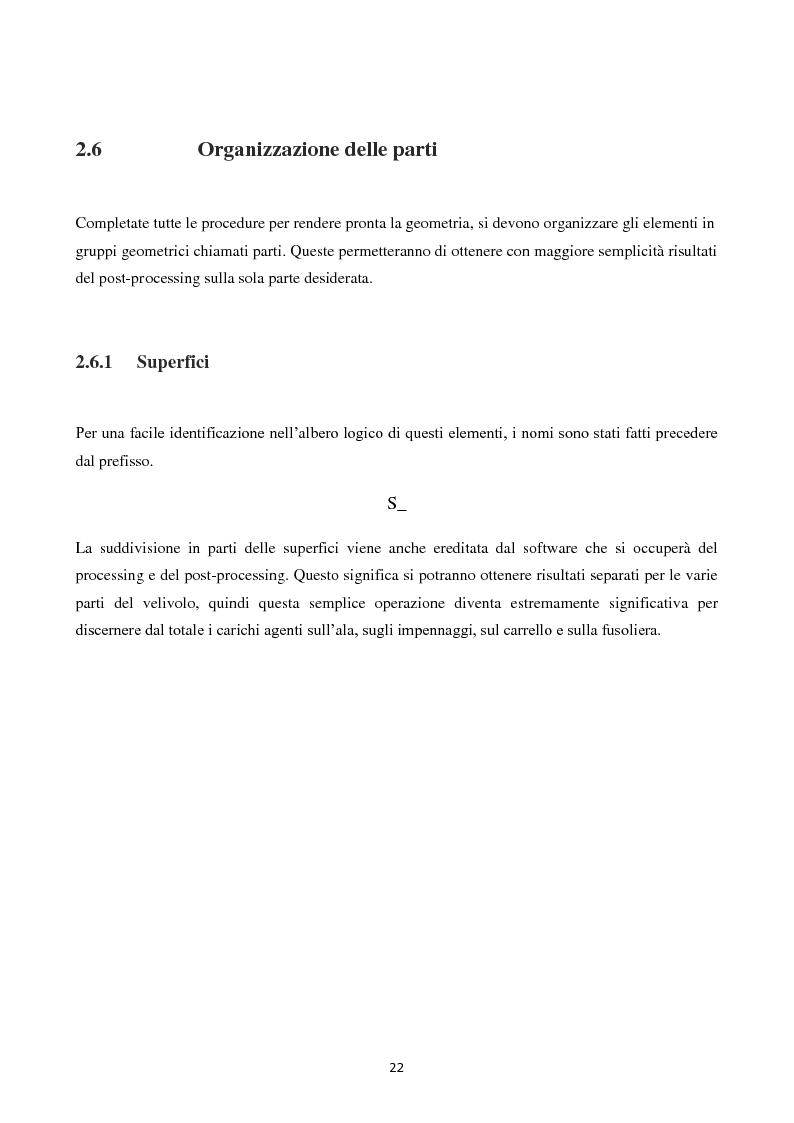 Anteprima della tesi: Caratterizzazione Aerodinamica di un nuovo Velivolo da Aviazione Generale mediante codice CFD, Pagina 9