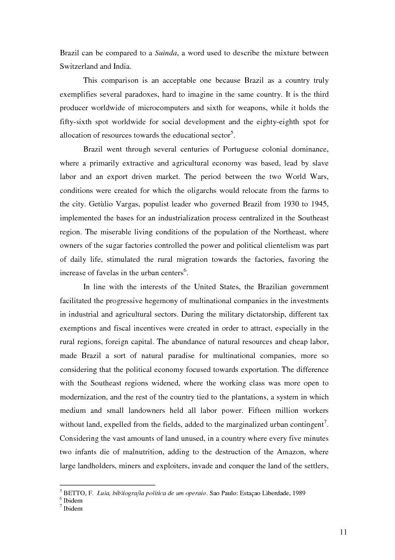 Anteprima della tesi: Lulism: the Evolution of a Political Phenomenon, Pagina 9