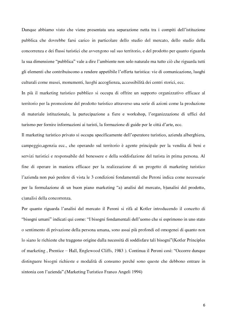 Anteprima della tesi: Web marketing per il turismo, Pagina 4