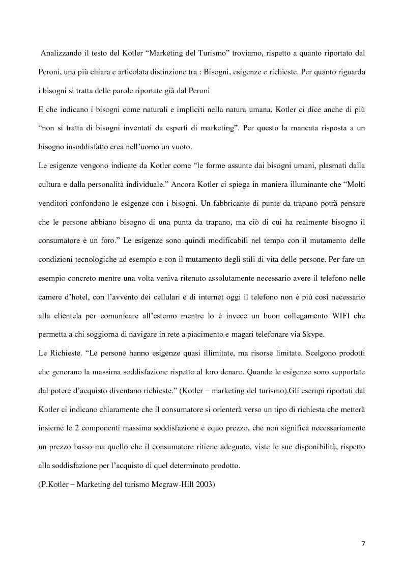 Anteprima della tesi: Web marketing per il turismo, Pagina 5