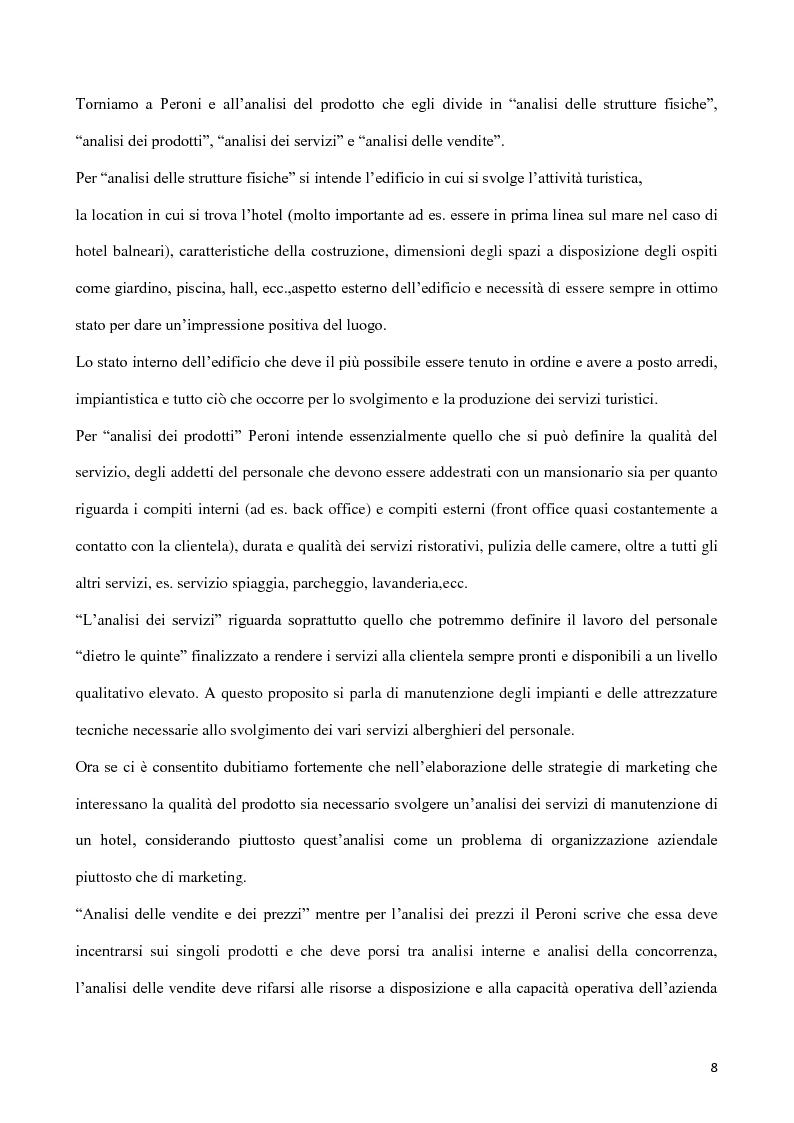 Anteprima della tesi: Web marketing per il turismo, Pagina 6