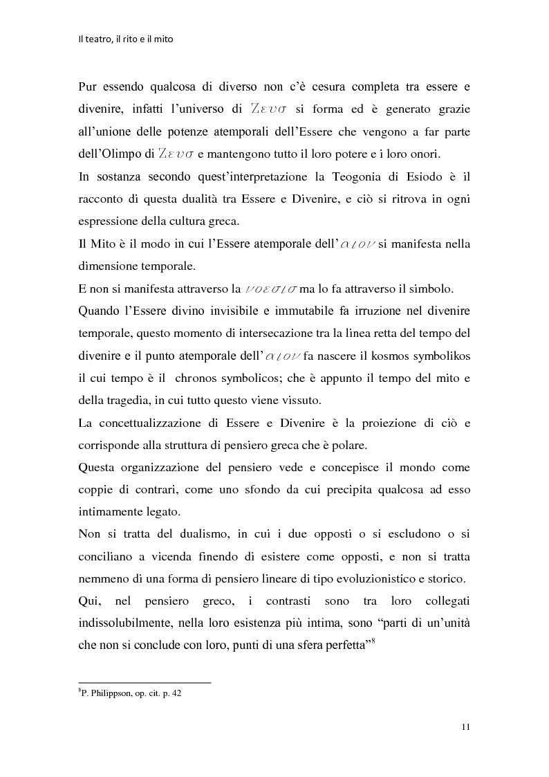 Anteprima della tesi: Rapporti tra teatralità e ritualità con particolare riferimento a Bartabas, Pagina 12