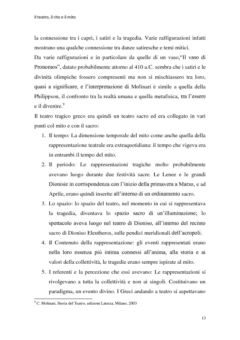 Anteprima della tesi: Rapporti tra teatralità e ritualità con particolare riferimento a Bartabas, Pagina 14